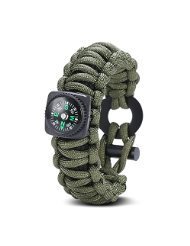 paracord-compass
