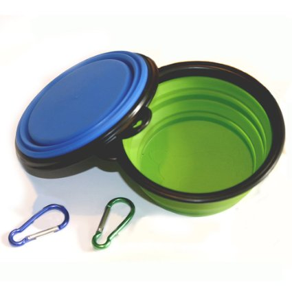 Collapsible Portable Camping Dog Bowl