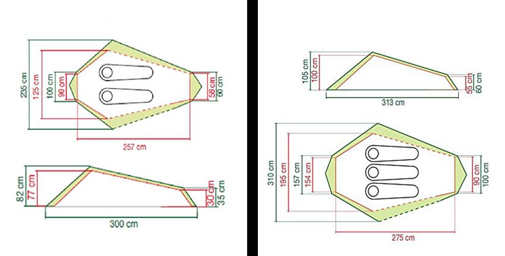 COLEMAN COBRA TENT DESIGN