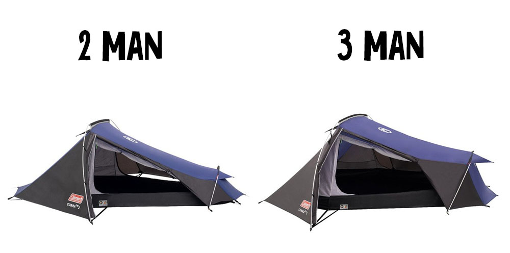 Coleman 2 man Vs Coleman 3 man  sc 1 st  Scanner Bargain & Coleman Cobra Tent Review - Scanner Bargain - Outdoor Deals - Tent