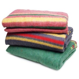 travel blanket - Winter Car Survival Kit