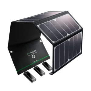 RavPower Solar Charger Top Camping Gadgets 2017