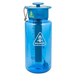 aquabot water bottle top camping gadgets